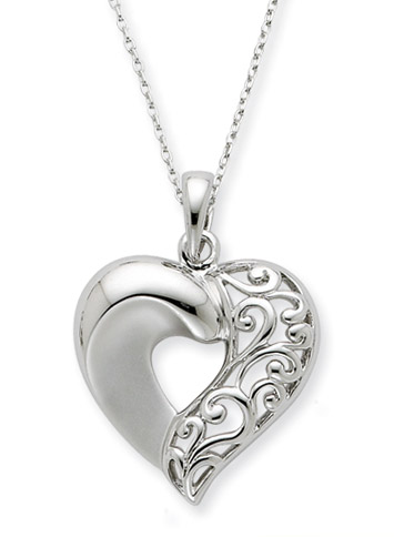 Close To My Heart Sterling Silver Necklace