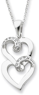 To My Sister Sterling Silver Pendant