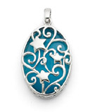 Sterling Silver Dream Bigger Pendant