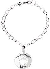 Heart U Back - Unconditional Love Bracelet in Sterling Silver