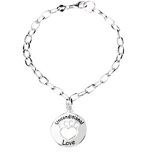 Heart U Back - Unconditional Love Bracelet in Sterling Silver