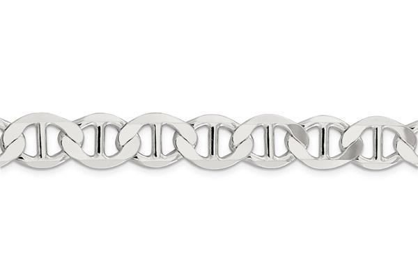 9mm Mariner Link Bracelet in Sterling Silver