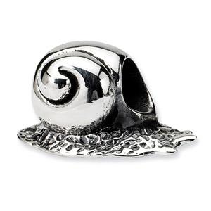 .925 Sterling Silver SnailBead