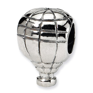 Sterling Silver Hot Air Balloon Bead