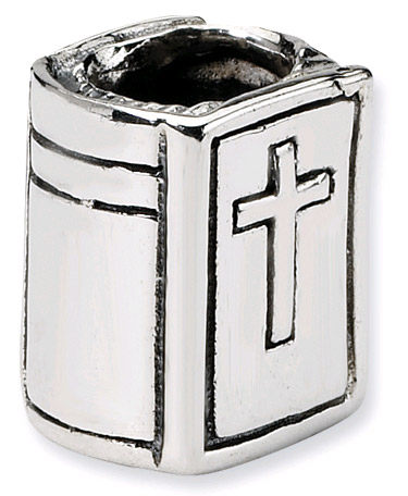 Bible Bead in Sterling Silver
