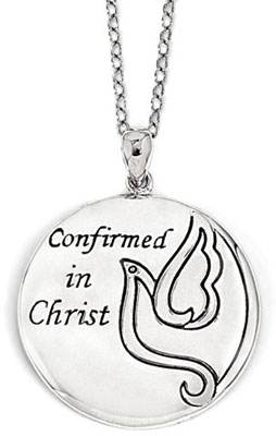 Confirmed in Christ Necklace in Sterling Silver