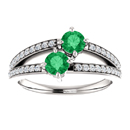 0.50 Carat Emerald