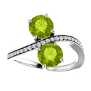 Peridot and CZ