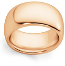 10mm Plain Rose Gold Wedding Band