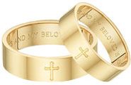 Song of Solomon Wedding Band Set