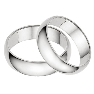 Simple Wedding Band Sets Symbols of Love that Never Fails