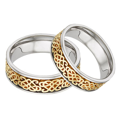Celtic Wedding Rings Sets