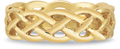 Celtic Mesh Wedding Band in 14K Gold