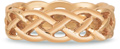 Braided Mesh Celtic Wedding Band in 14K Rose Gold