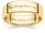 Thy Kingdom Come Ring in 14K Gold