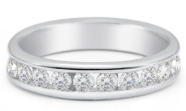 Women's 0.75 Carat Diamond Wedding Band