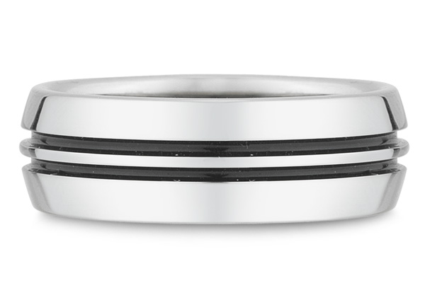 Buy Black Titanium Wedding Band