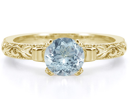 light blue ct ring how platinum color metals en fancy engagement us blog appearance rings metal in diamond a setting affects