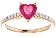Pink Topaz Rings