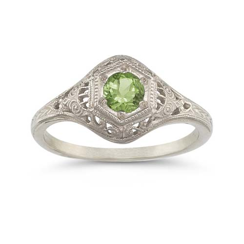 Apples of Gold Enchanted Peridot Ring in .925 Sterling Silver at Sears.com