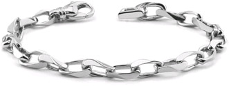 Men's White Gold Bracelets
