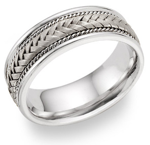 braided wedding bands