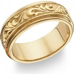 Wedding Bands in Gold, Titanium, Platinum, Silver, Cobalt