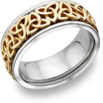 Trinity Celtic Knot Wedding Band