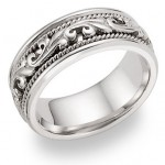 Choosing White Gold or Platinum Wedding Bands