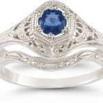Gemstone Engagement Rings, from Amethyst to Emerald to Tanzanite