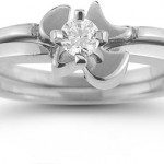 Christian Engagement and Wedding Ring Bridal Sets