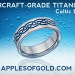 Aircraft Grade Titanium Wedding Bands for Love that Stands Strong