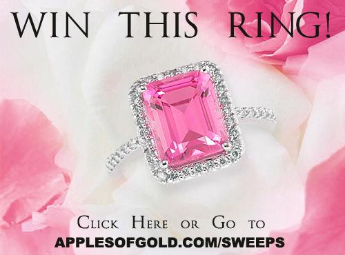 pink and white jewelry sweepsatkes