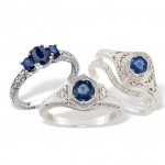 Sapphire Engagement Rings to Light Up Your Christmas Proposal