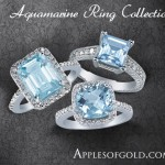 Aquamarine Rings: As Beautiful as a Winter Sky