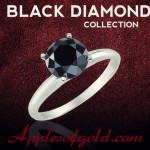 Chic Black Diamond Rings to Start the New Year in Style