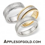 Hammered Wedding Bands that are Ready for Anything