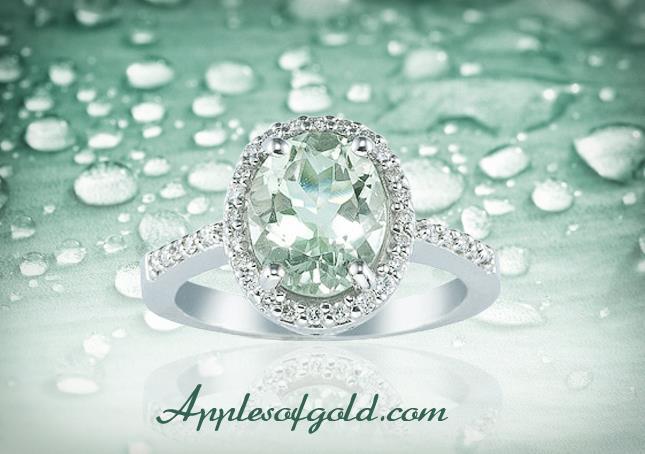 01-11-2013 green amethyst ring