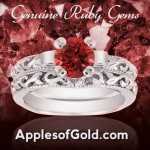 Ruby Rings with Fiery Beauty