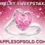 Win a Pink Topaz Heart Ring for Valentine's Day!