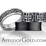 Black Wedding Bands for a Better than Basic Look