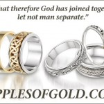 Wedding Bands to Celebrate that God Brought You Together