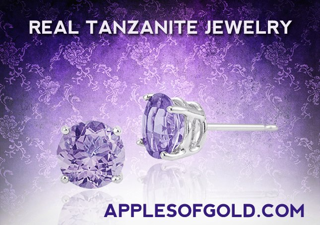 real tanzanite jewelry, December birthstone