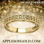 Heart Wedding Bands: Unmistakable Expressions of Love