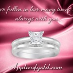 Princess-cut Diamond Rings for a Love Worth Choosing