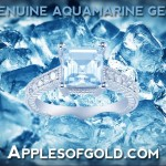 "True-Blue Aquamarine Rings in Honor of ""Honest Abe"""