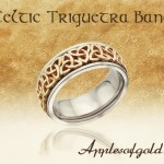 Two-Tone Celtic Wedding Bands: Putting Time-honored Motifs in the Spotlight