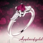 Romantic Gemstone Rings to Make Any Day Valentine's Day
