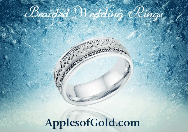 03-01-2013 braided wedding rings