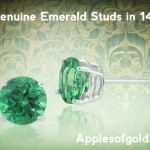 Three Green Gemstones in Honor of St. Patrick's Day